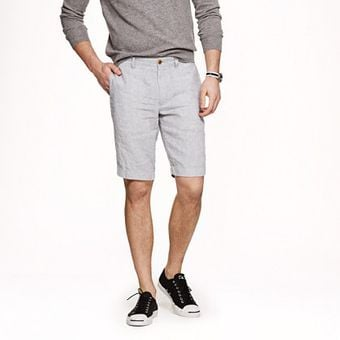 J.Crew 11 Stanton Short in Irish Linen - Lyst