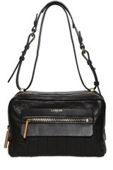 Lanvin Padam Soft Quilted Leather Shoulder Bag - Lyst