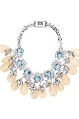 Mawi Flower Gemstone Necklace - Lyst