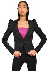 Mugler Stretch Wool Gabardine Jacket - Lyst