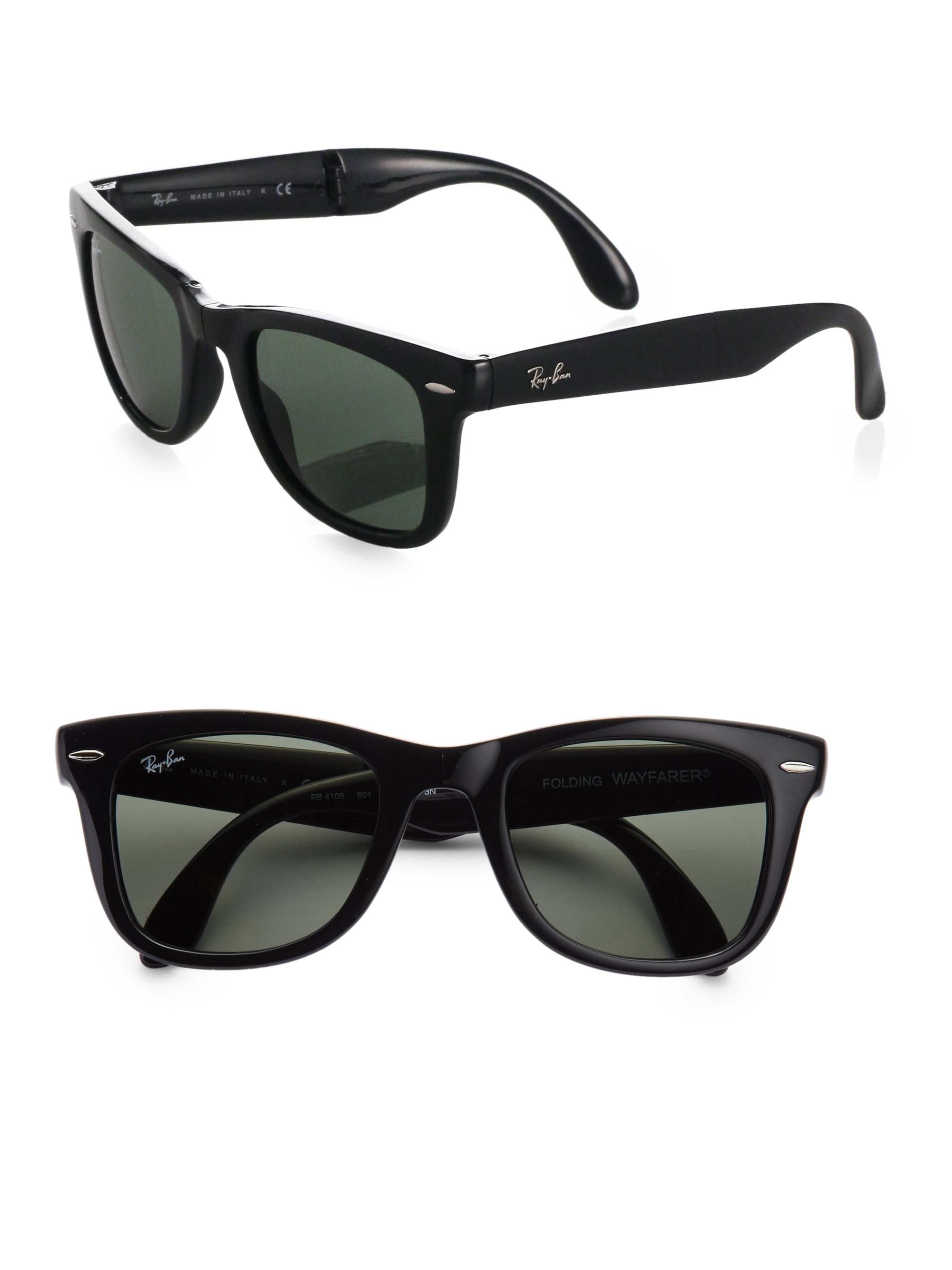 ff88c0719e Folding Wayfarer Sunglasses Polarized