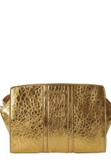 Rochas Laminated Nappa Leather Clutch - Lyst