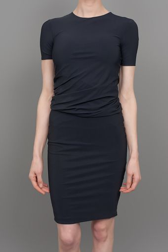 T By Alexander Wang Tricot Dress Black - Lyst