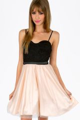 Tobi Madonna Tulle Skirt Dress - Lyst