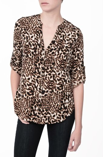 Twelfth Street by Cynthia Vincent Safari Top - Lyst
