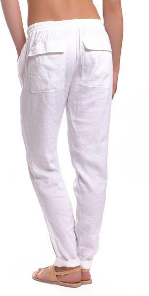 Wonderful Floopi White Pocket Jogger Pants  Women  Zulily