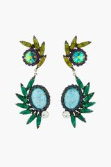 Dannijo Turquoise Multicolor Handmade Radley Earrings - Lyst