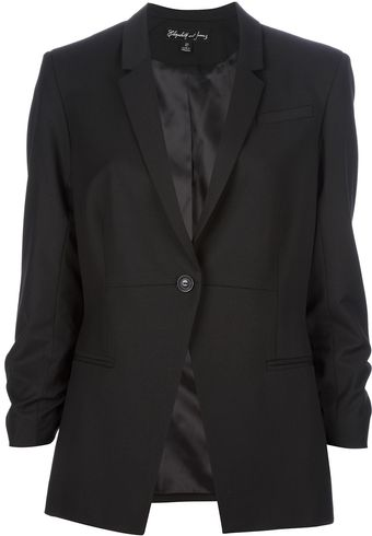Elizabeth And James Threequarter Sleeve Blazer - Lyst