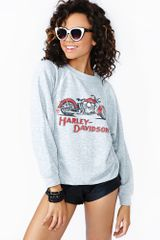 Nasty Gal Thrill Ride Sweatshirt - Lyst