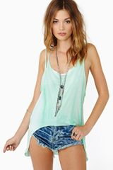 Nasty Gal Wicked Sensation Tank Mint - Lyst