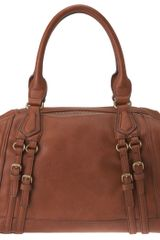 Nine West Hare and Hounds Satchel - Lyst