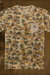 Denim & Supply Camo Crewneck Tee - Lyst