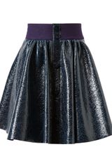 Roksanda Ilincic Cracked and Laminated Skirt - Lyst