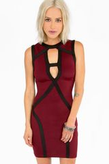 Tobi Cut It Out Dress - Lyst