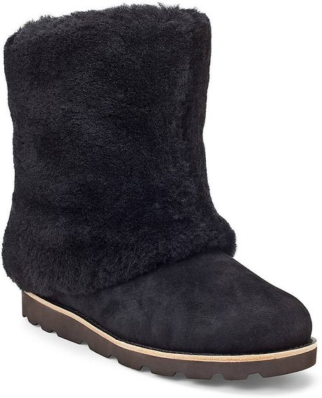 7dc41321046 Maylin Black Suede Ugg Boots