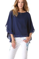 Alice + Olivia Hampton Top - Lyst