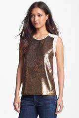 Juicy Couture Sequin Top - Lyst