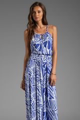 Rachel Pally Rhiannon Maxi Dress in Blue - Lyst