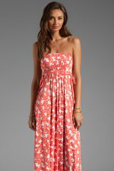 Rachel Pally Dragonfly Maxi Dress in Orange - Lyst