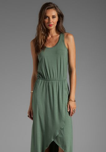 Splendid Hilo Tank Dress in Green - Lyst