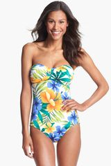 Tommy Bahama Happy One Piece Swimsuit - Lyst