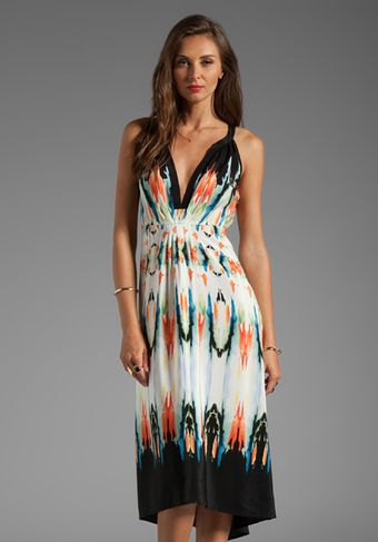 Twelfth Street by Cynthia Vincent Palma Hilow Maxi Dress in White - Lyst