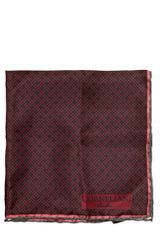 Corneliani Printed Silk Pocket Square - Lyst