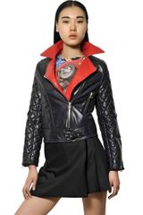 J.W. Anderson Quilted Nappa Leather Biker Jacket - Lyst