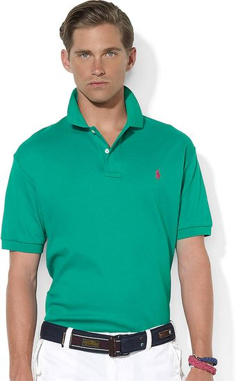 Polo Ralph Lauren Classic Fit Short Sleeved Interlock Polo - Lyst