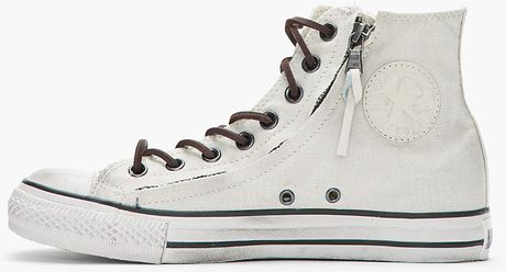 Converse High Tops Off White