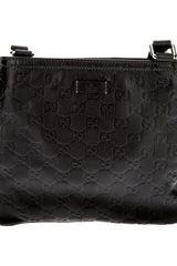 Gucci Logo Embossed Shoulder Bag - Lyst