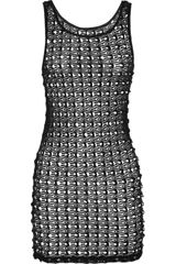 Lisa Maree Bottled Baby Crochet knit Mini Dress - Lyst