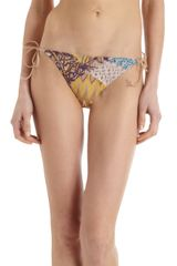 Missoni Embroidered Reversible Bikini - Lyst