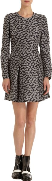 Stella McCartney Jacquard Mini Dress - Lyst