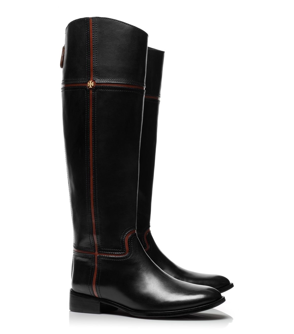 Lyst Tory Burch Juliet Riding Boot In Black