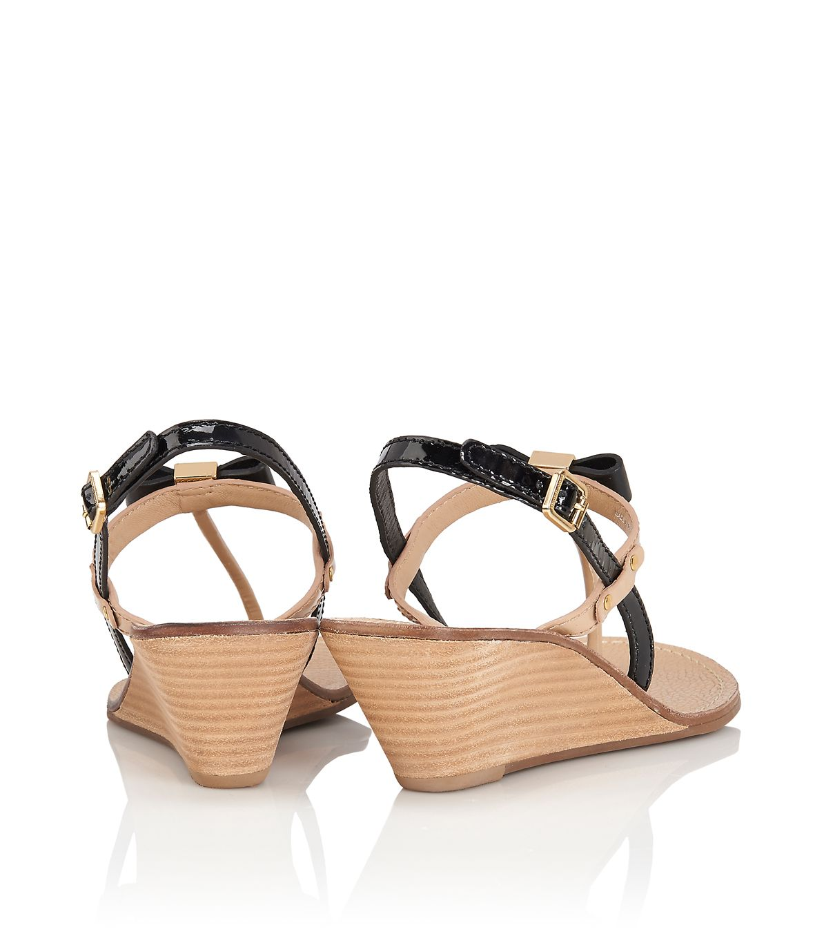 044b6a5de303 Lyst - Tory Burch Kailey Wedge Thong Sandal in Yellow