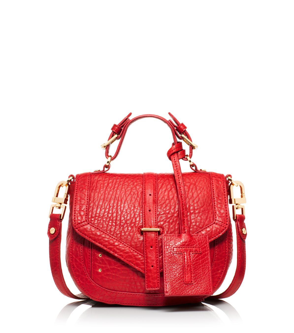 517e6446e379 Tory Burch 797 Crossbody Pouch in Red - Lyst