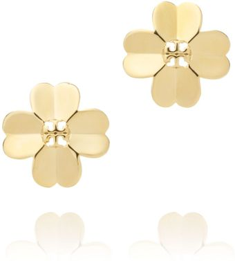Tory Burch Shawn Metal Stud Earring - Lyst