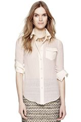 Tory Burch Misty Blouse - Lyst