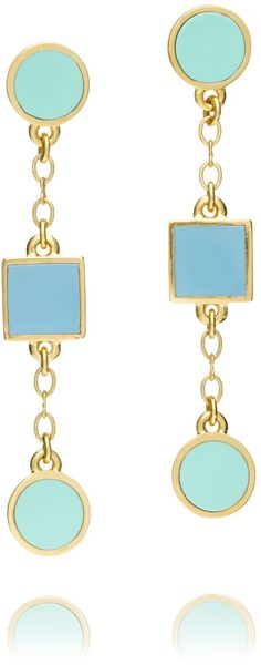 Tory Burch Clemens Drop Earring - Lyst