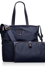 Tory Burch Stacked Logo Billy Baby Bag - Lyst