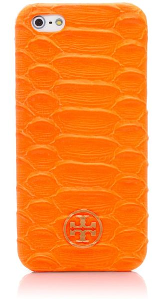 Tory Burch Neon Snake Hardshell Case For Iphone 5 - Lyst