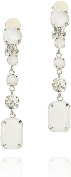 Tory Burch Simple Resin Drop Earrings - Lyst
