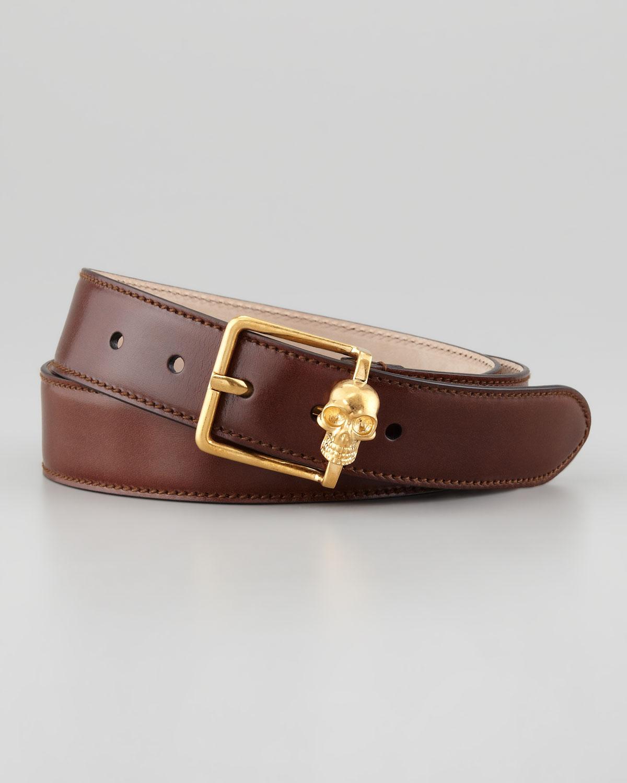 Leather belt Alexander McQueen Toei5EWR