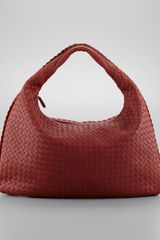 Bottega Veneta Intrecciato Woven Large Hobo Bag - Lyst