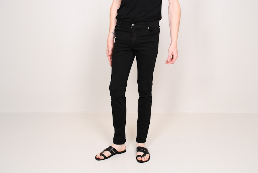 Cheap monday Tight Jean Very Stretch Black in Black for Men | Lyst