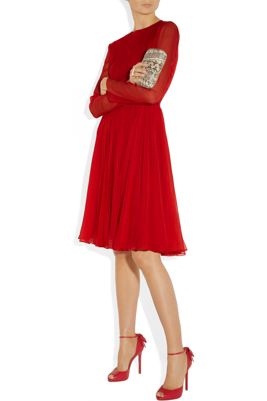 christian louboutin men sneakers - Shoeniverse: CHRISTIAN LOUBOUTIN Red Noeud 120 Bow Embellished ...