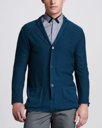 Lanvin Three Button Cashmere Cardigan - Lyst