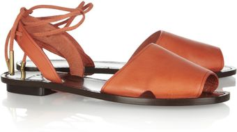 Maiyet Leather Sandals - Lyst