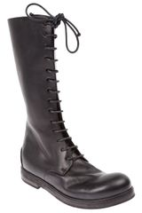 Marsell Mid Calf Boot - Lyst